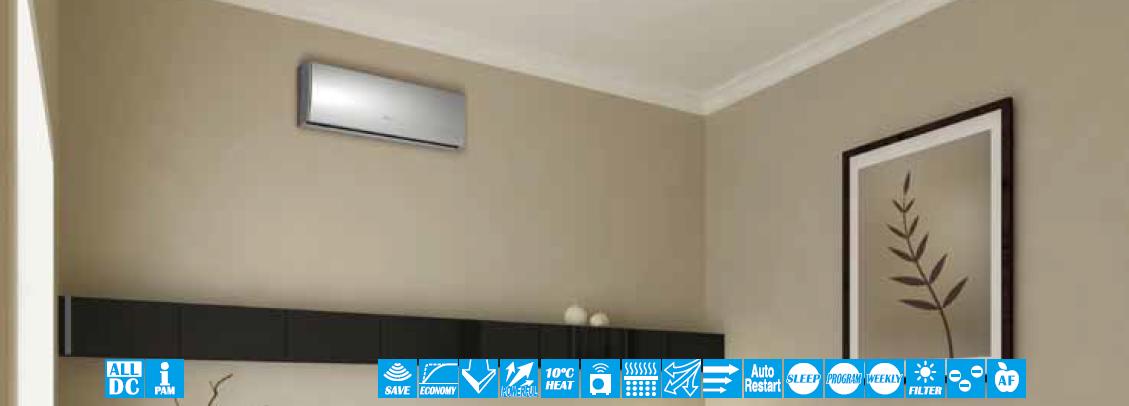 Klimatyzator Fuji Electric Ścienny RSG-LTCA (2.5-4.0 kW)